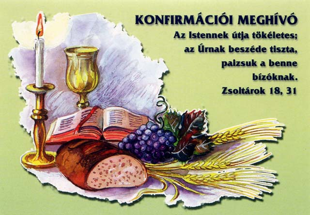 bibliai idézetek konfirmációra Konfirmációi meghívó (borítékos)   magveto.sk